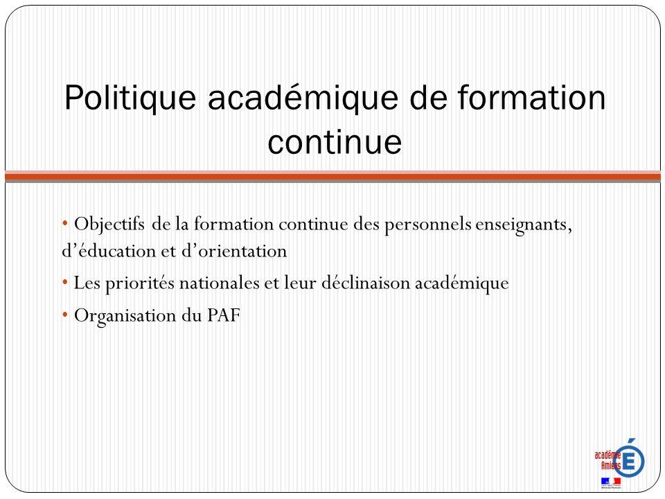 Objectifs de formation Appropriation des enjeux de politique éducative Mise en œuvre de dispositifs pédagogiques adaptés pour favoriser la réussite de tous les élèves Accompagnement des parcours professionnels à chaque étape de la carrière