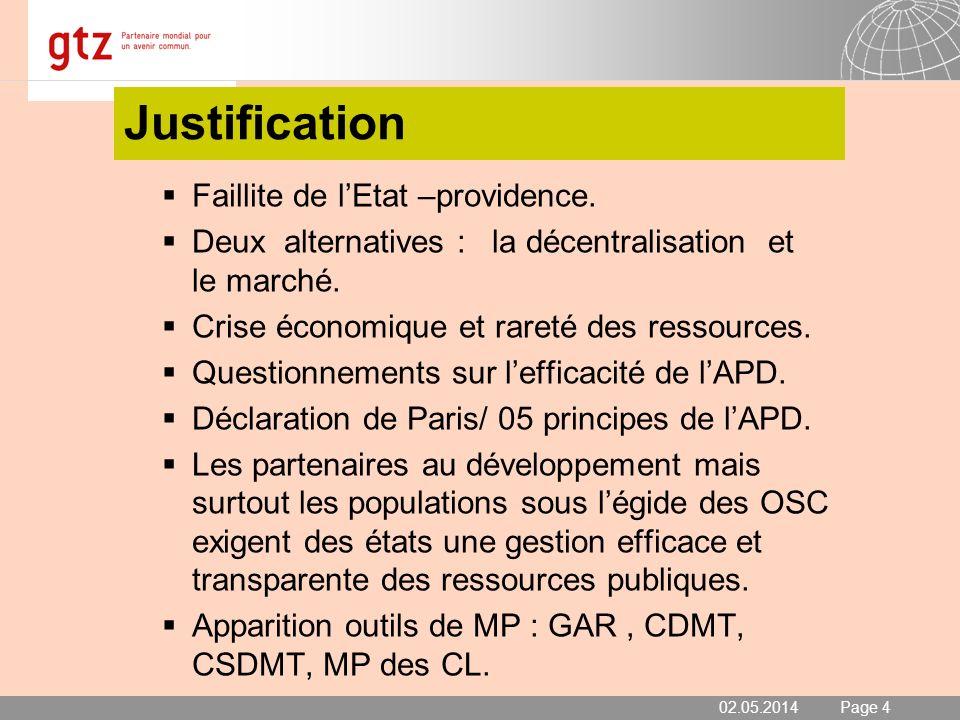 02.05.2014 Seite 5 Page 5 Historique de la mesure des performances Démarche A lorigine en 2001, initiative du PRoCR qui en relation avec lAPCR détermine les critères de performance.