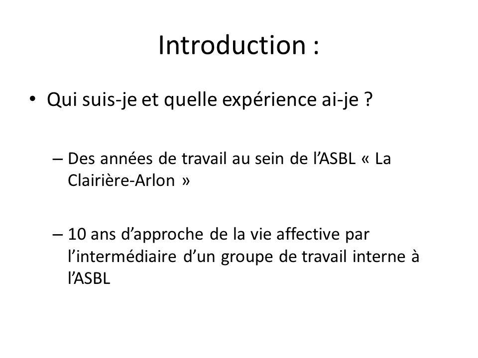 Brièvement : La Clairière-Arlon -Quatre services -Trois sites -Des niveaux de handicap différents -Des projets de services différents