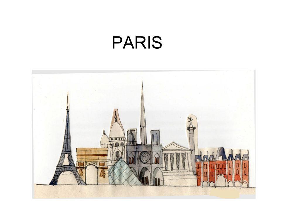 Paris… 1.Paris est la capitale de la France et se trouve dans la région appelée Ile-de-France.