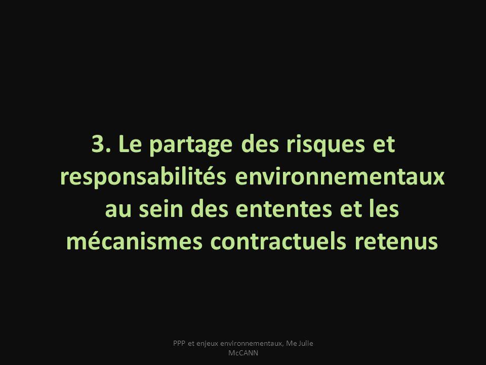 Le risque environnemental : le risque pré- existant, la survenance dun risque nommé, le risque politique, limprévision.