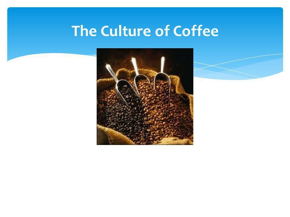The Culture of Coffee