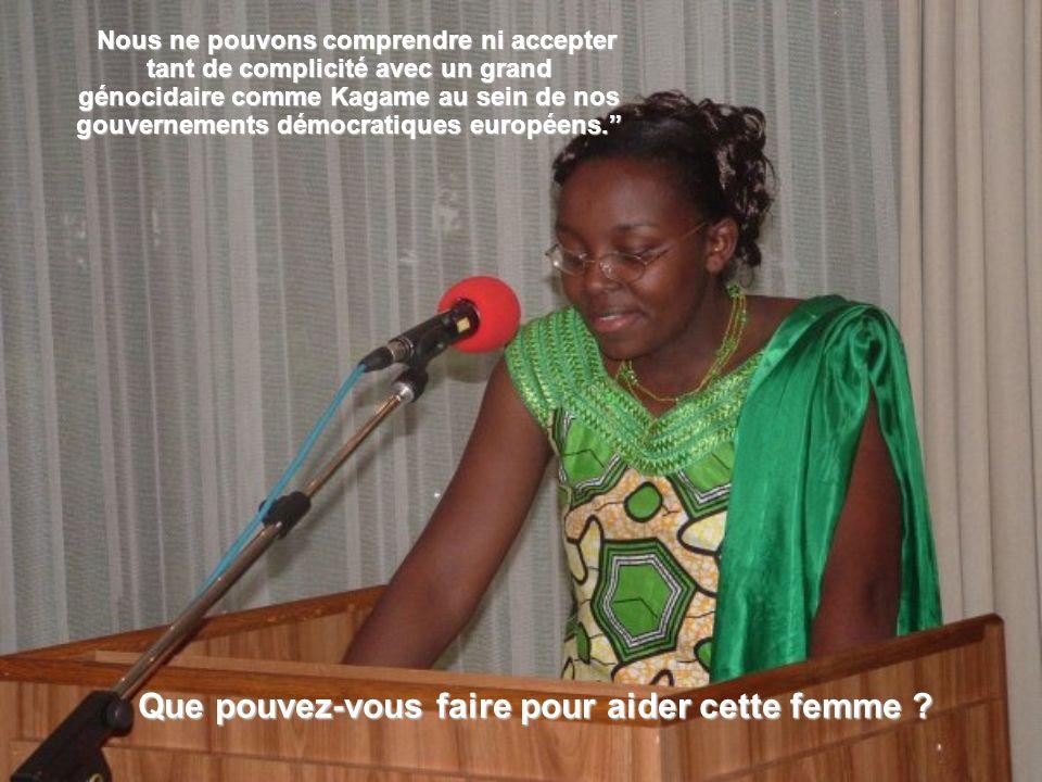 Nous ne pouvons comprendre ni accepter tant de complicité avec un grand génocidaire comme Kagame au sein de nos gouvernements démocratiques européens.