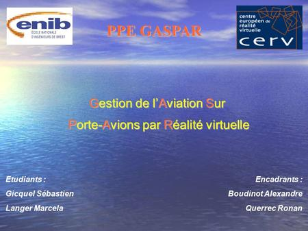 PPE GASPAR Gestion de l'Aviation Sur