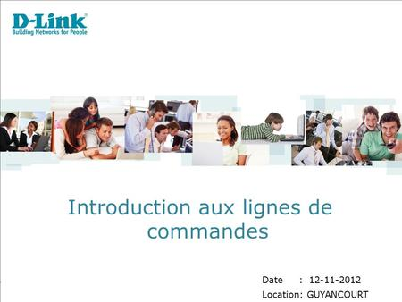 Introduction aux lignes de commandes