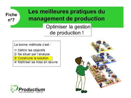 Optimiser la gestion de production !