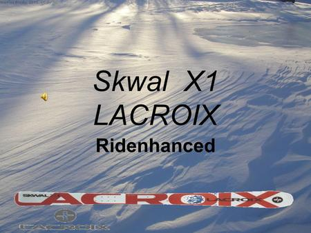 Skwal X1 LACROIX Ridenhanced.