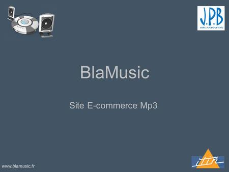 BlaMusic Site E-commerce Mp3.