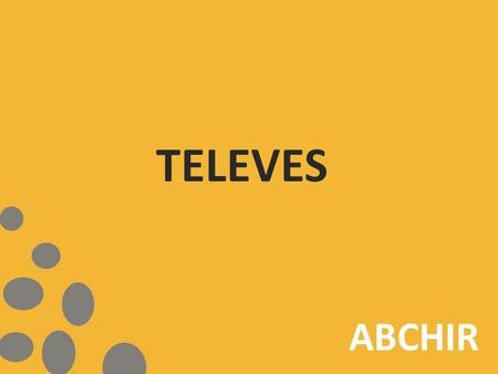 TELEVES ABCHIR. SOMMAIRE ANTENNE TERESSTRE CENTRALE D'AMPLIFICATION SYSTÈME MONOCANAL SYSTÈME MULTISWITCH DISTRIBUTION.