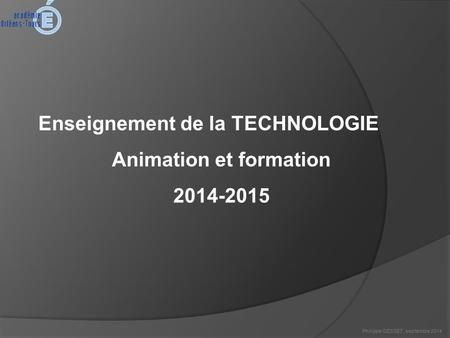 Animation et formation
