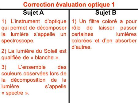 Correction évaluation optique 1