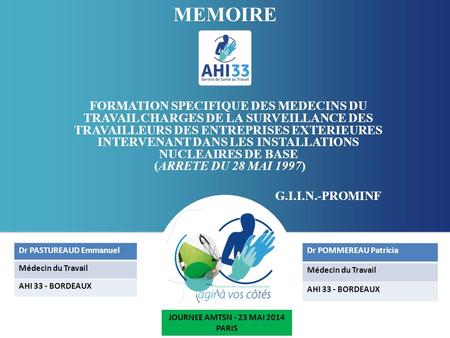 JOURNEE AMTSN - 23 MAI 2014 PARIS