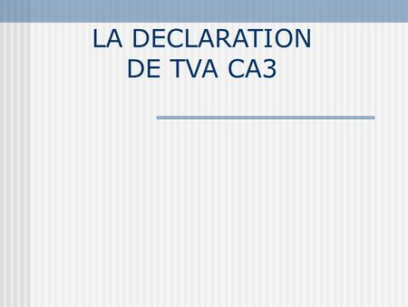 Definition tva deductible