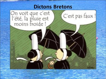 Dictons Bretons.