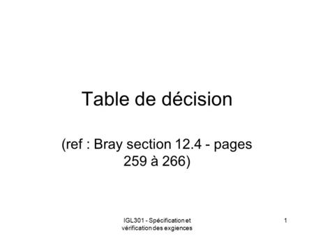 (ref : Bray section pages 259 à 266)