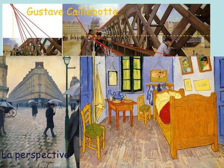 Gustave Caillebotte La perspective.
