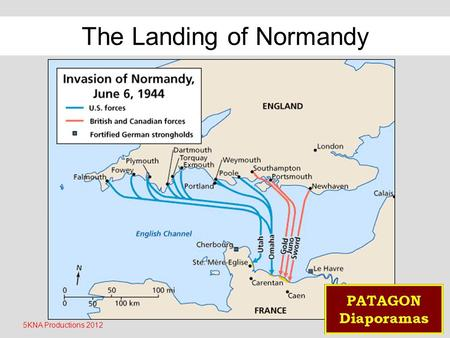 5KNA Productions 2012 The Landing of Normandy The 177 men of the commando Kieffer are the only French troops to have participated in day J.