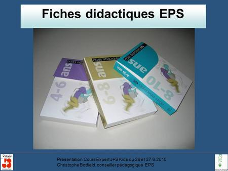 Fiches didactiques EPS