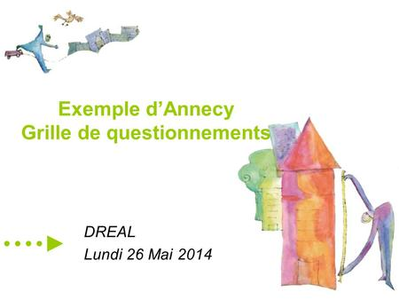 Exemple d'Annecy Grille de questionnements DREAL Lundi 26 Mai 2014.