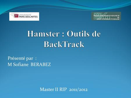 Hamster : Outils de BackTrack