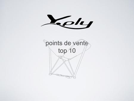 Points de vente top 10. Grands comptes Nature & DécouvertesLeroy Merlin Le Vieux Campeur.