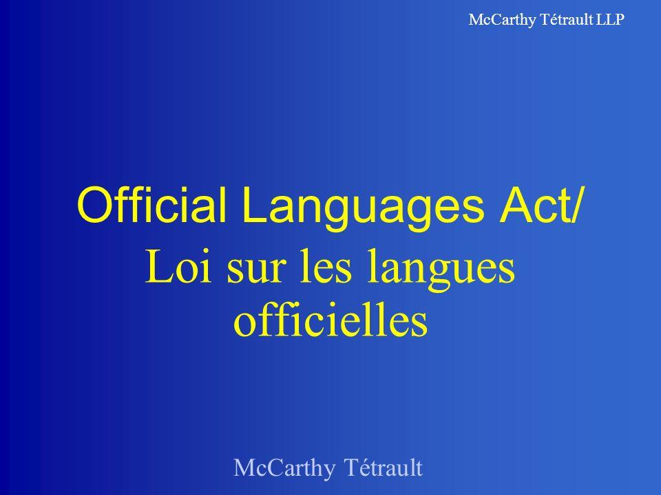 McCarthy Tétrault LLP S.
