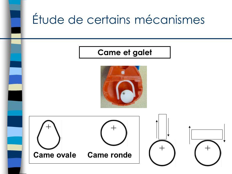 Étude des parties du mécanisme came et galet Came et galet http://www2.cslaval.qc.ca/cdp/pages/primaire-3ecycle.html#périscope