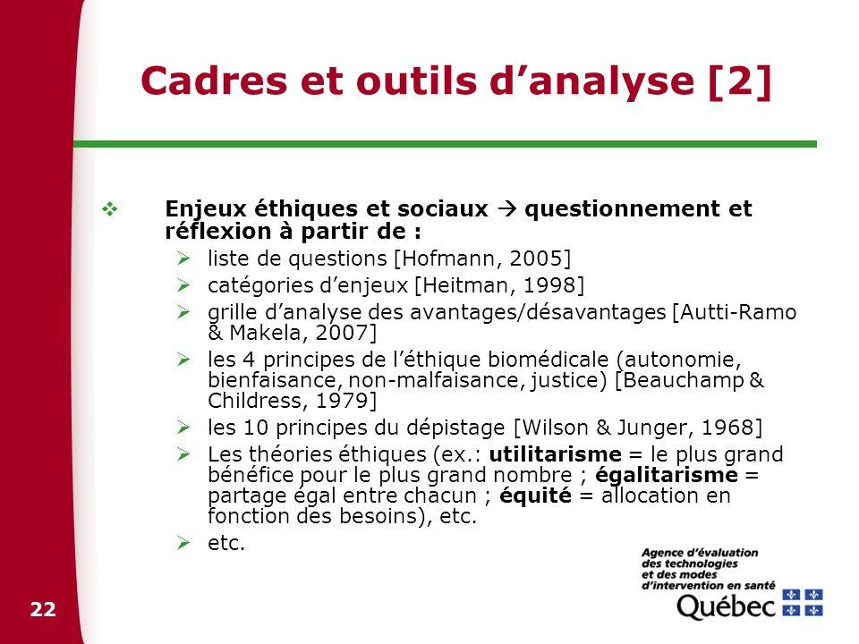 23 Liste de questions extrait adapté de Hofmann, 2005 1.Pourquoi cette technologie fait-elle lobjet dune évaluation .