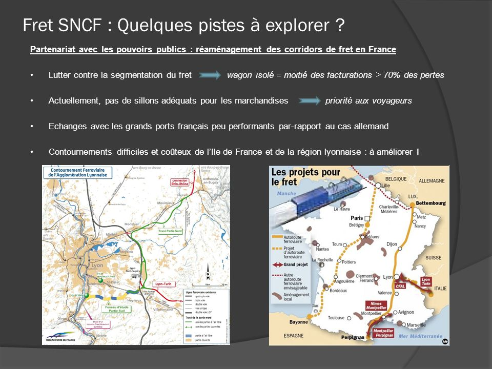 Assets and weaknesses of SNCF rail freight Actor in the reduction campaign of the gases of greenhouse effect recommended by the Grenelle of the environment The railroad network covers a good part of the national and international territory Transports easily big quantities.