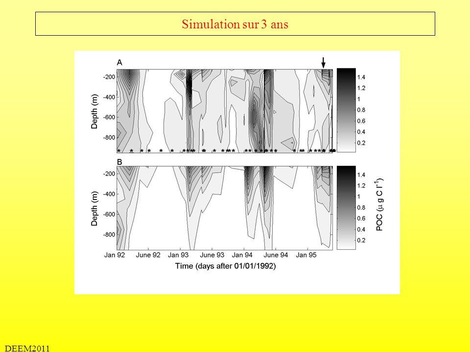 DEEM2011 Model 1D: Quels sont les méchanismes important.