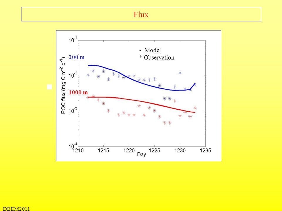 DEEM2011 Transfert de matière au sein du spectre de taille