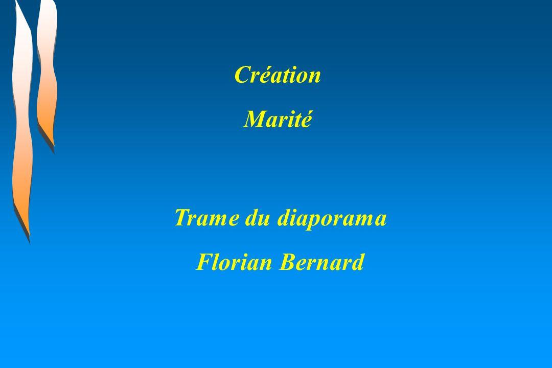 Création Marité Trame du diaporama Florian Bernard