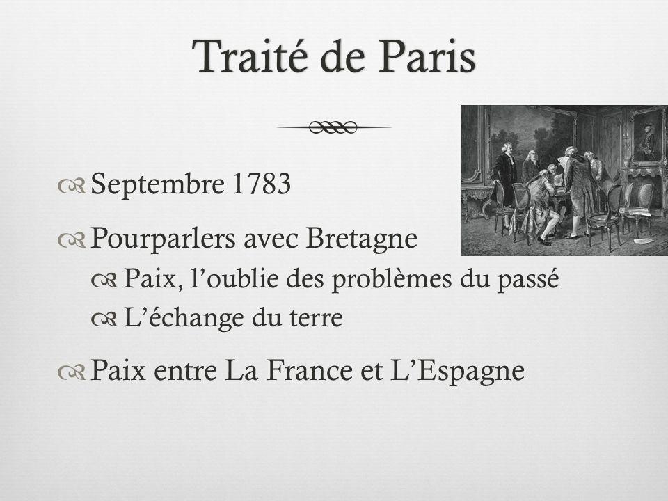 Limpact sur léconomie de la France Limpact sur léconomie de la France Beaucoup dargent Affaibli léconomie Dette = 3.3 billion Agitation avec la monarchie Révolution Français?