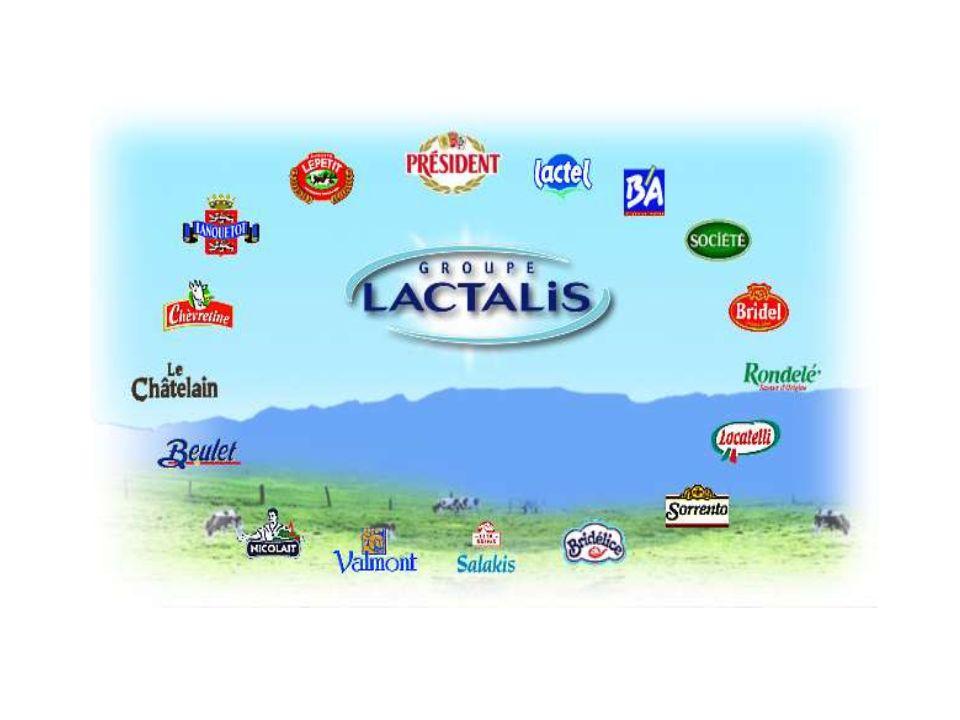 Entreprise: LACTALIS taille en France .