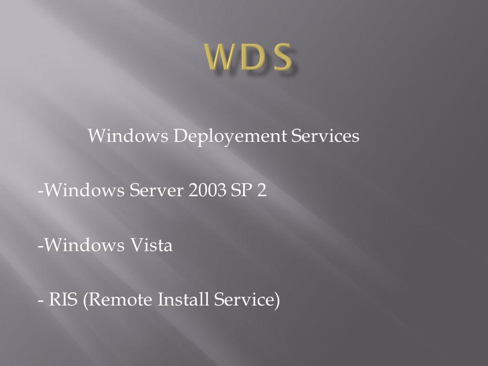 - AD sur Windows serveur 2008 - Windows XP sur le domaine AD - Serveur DHCP - Serveur DNS