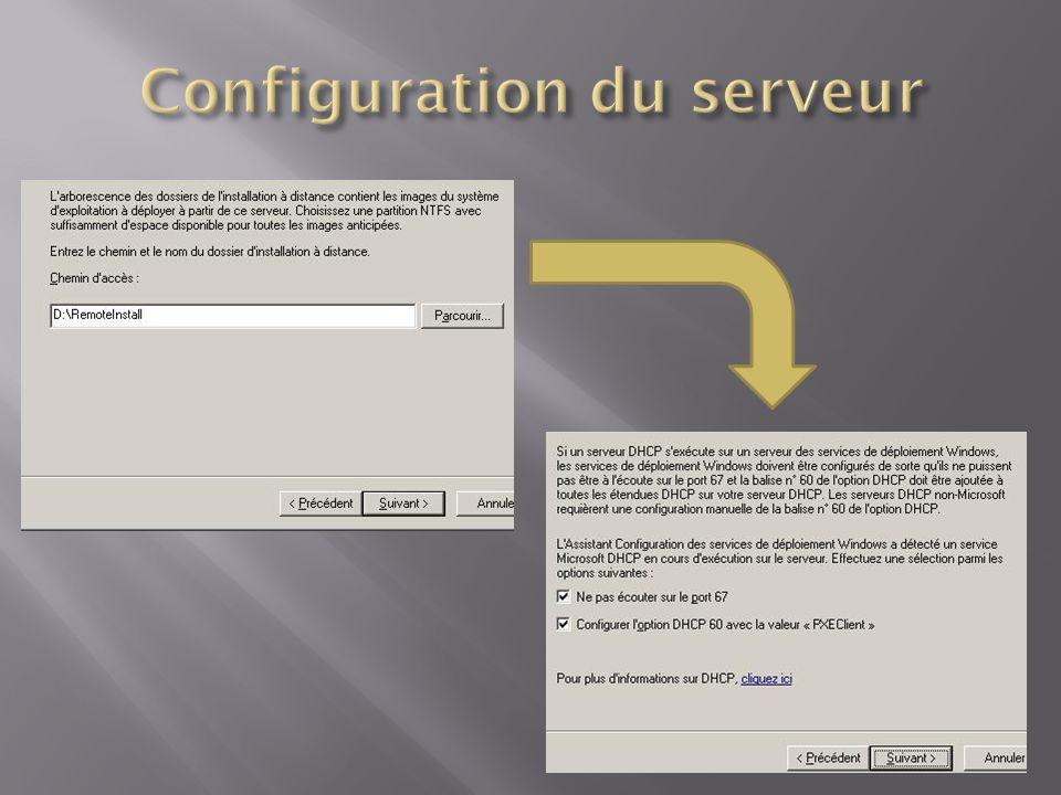 Format.WIM Présent dans les CD dinstallation Windows Imaging : -amorçable -images empilables -haute compression -déploiement non destructif