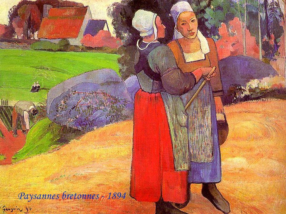 Paysannes bretonnes - 1894