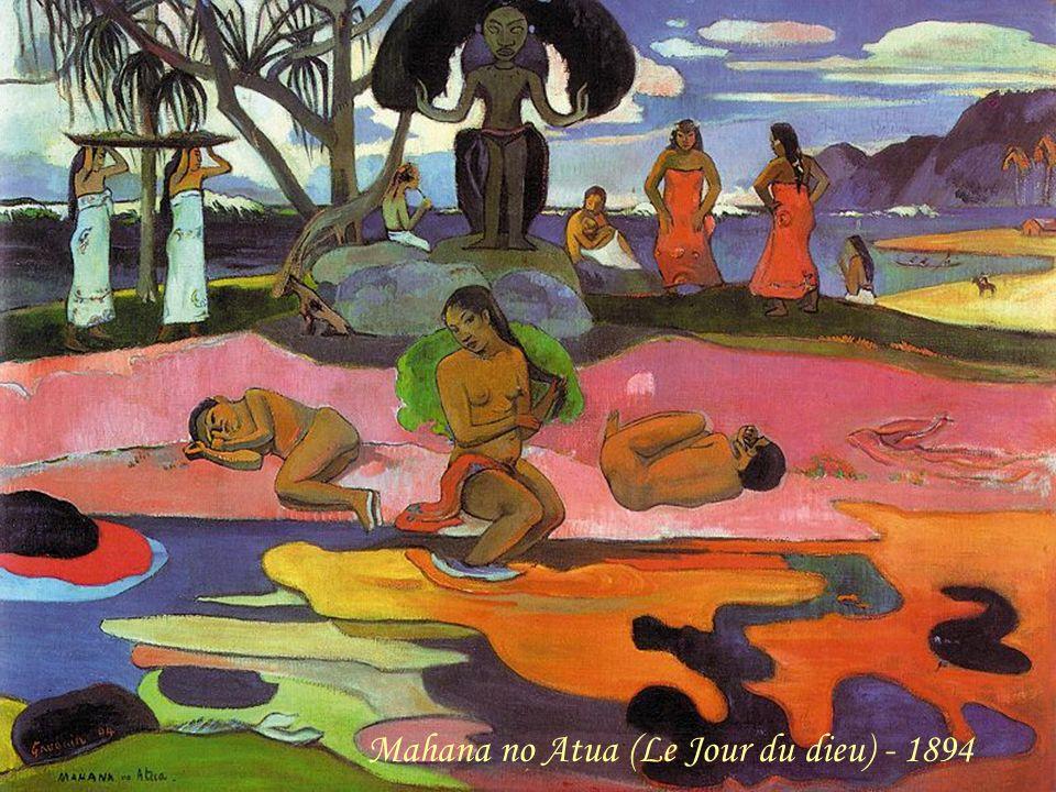 Mahana no Atua (Le Jour du dieu) - 1894