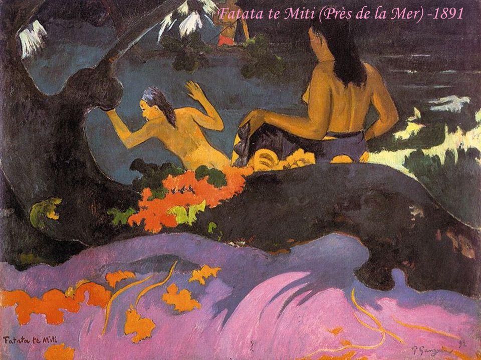 Fatata te Miti (Près de la Mer) -1891