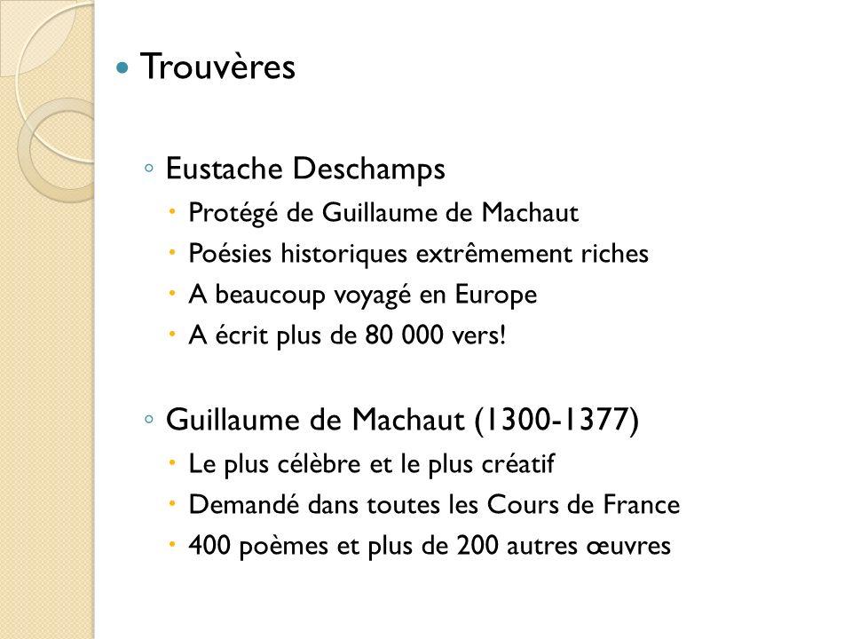 La littérature courtoise : deux catégories La matière de Bretagne (origines celtiques) Les Romans d aventures du 12 e au 15 e siècle (origines byzantines = croisades)
