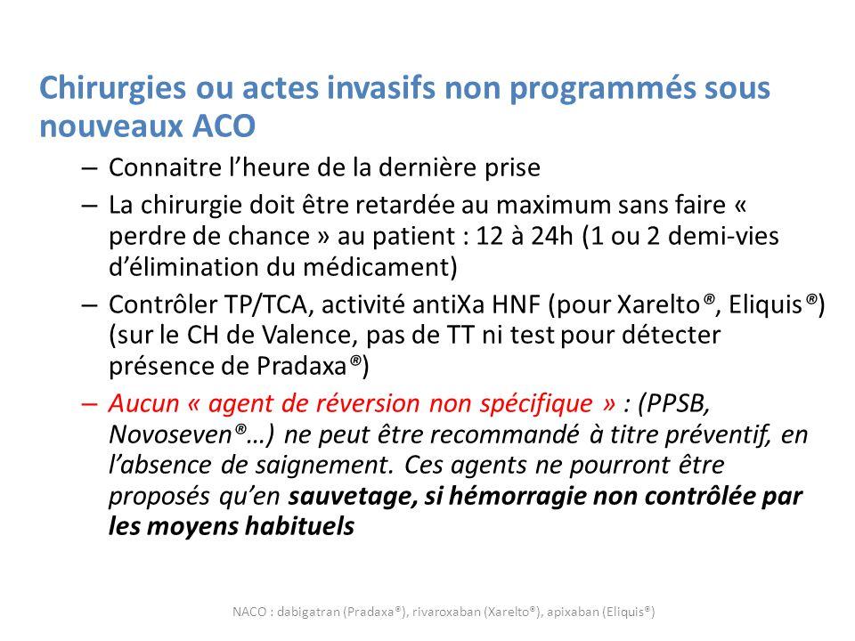 En conclusion Nouveaux mais pas forcément innovants Sans doute pas plus efficaces que les AVK Font saigner comme les AVK Contre-indiqués dans lanticoagulation des prothèses valvulaires .