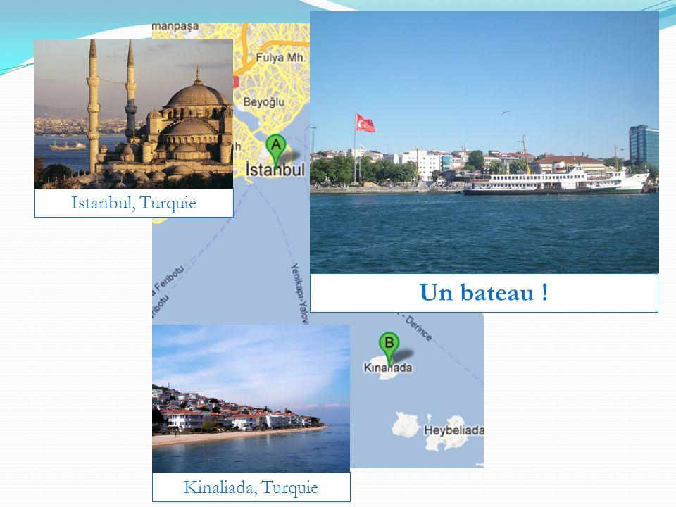 Istanbul, Turquie Un bateau ! Kinaliada, Turquie