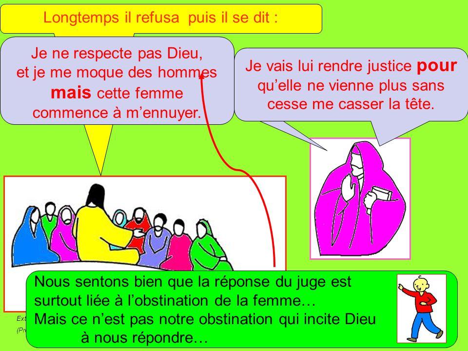 Extrait de « Mille images dÉvangile » de Jean François KIEFFER (Presse dÎle de France) Écoutez bien ce que dit ce juge sans justice .