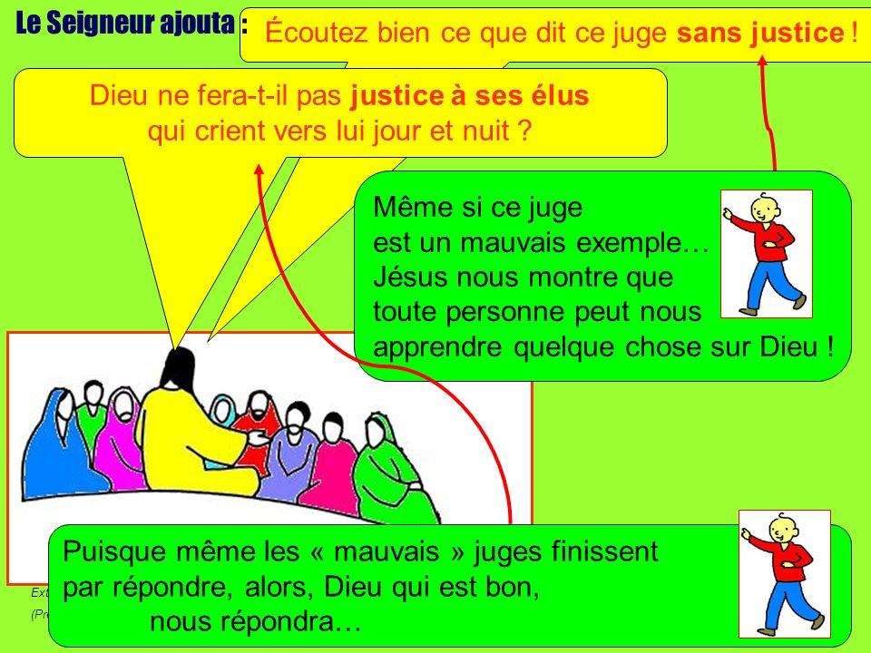 Extrait de « Mille images dÉvangile » de Jean François KIEFFER (Presse dÎle de France) Est-ce quil les fait attendre .
