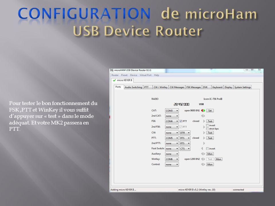 Faire un click droit dans la fenêtre des DX Spots, puis suivre la procédure de 1 a 4 Une fois arrivé a létape 4 « Activer les alertes sonores » la fenêtre DX Spot Audio Alert Setup souvre.