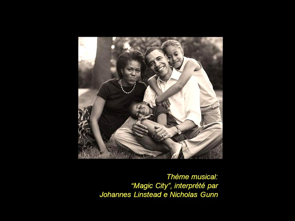 Thème musical: Magic City, interprété par Johannes Linstead e Nicholas Gunn