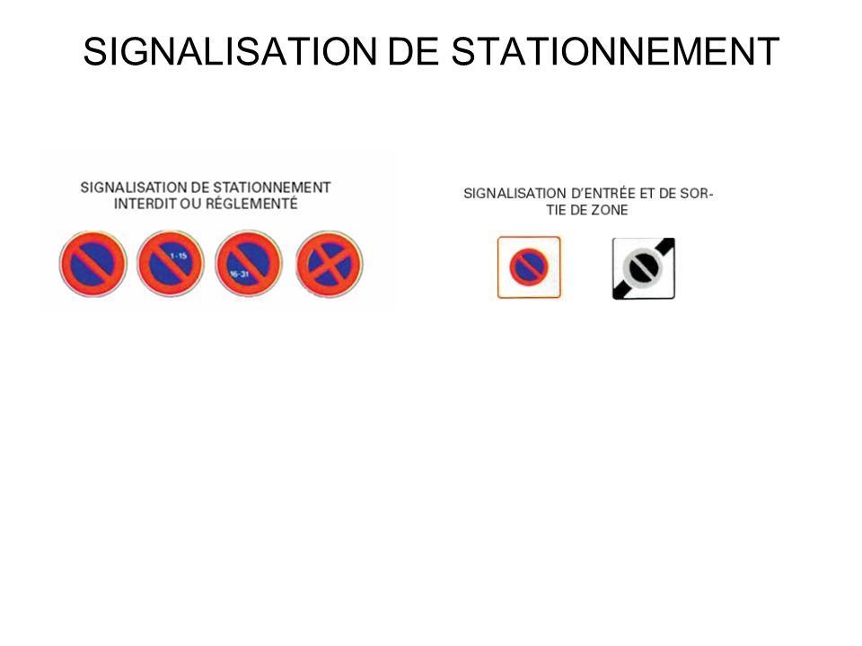 SIGNALISATION DINDICATION