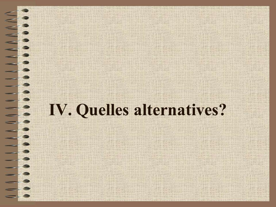Les alternatives en cours en Amérique latine