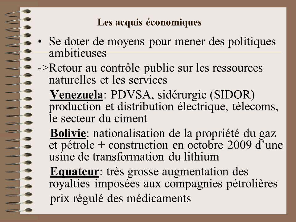 Les dispositions en matière dendettement Bolivie Le recours à lendettement doit obligatoirement être autorisé par le Parlement Il est conditionné à la capacité de lEtat à générer les ressources pour couvrir le capital et les intérêts par le projet financé.