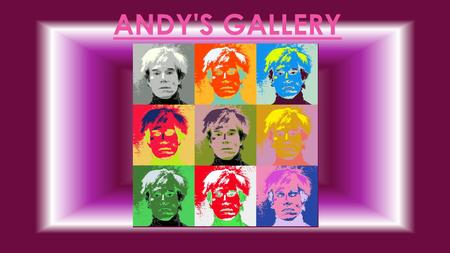 Andy's gallery.